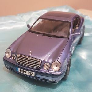 🔥Vintage🔥1999 Mercedes-Benz CLK Coupe model car
